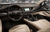 2020 Buick Enclave Interior Brown Color Leather Seat and BOSE Speaker