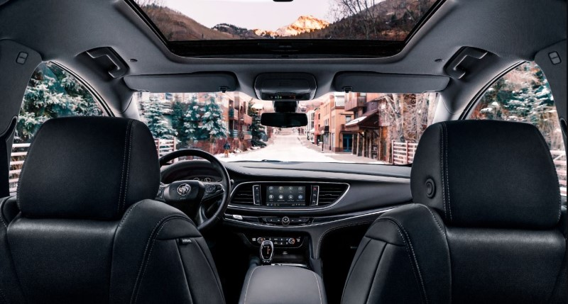 2020 Buick Enclave New Interior With Leather Seat and Sunroof