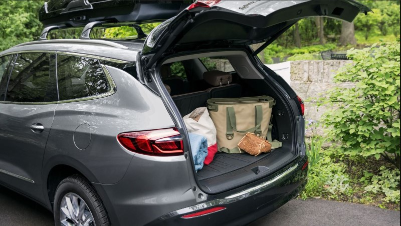 2020 Buick Enclave Trunk Capacity