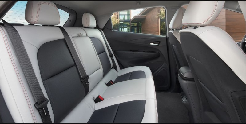 2020 Chevy Bolt Seating Capacity