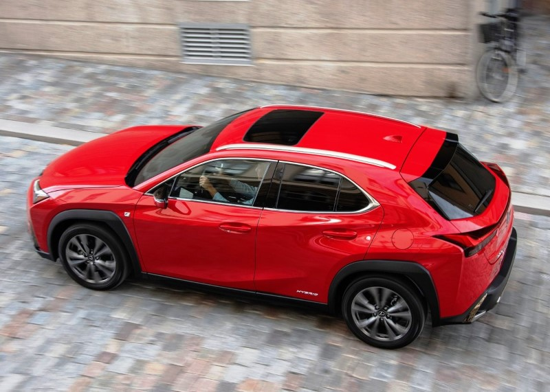 2020 Lexus UX 250h Colors