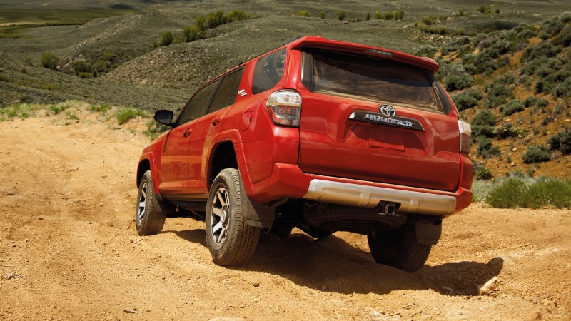 2020 Toyota 4Runner TRD Pro Red Color