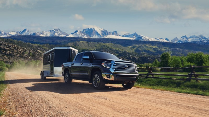 2020 Toyota Tundra 4x4 Towing Capacity
