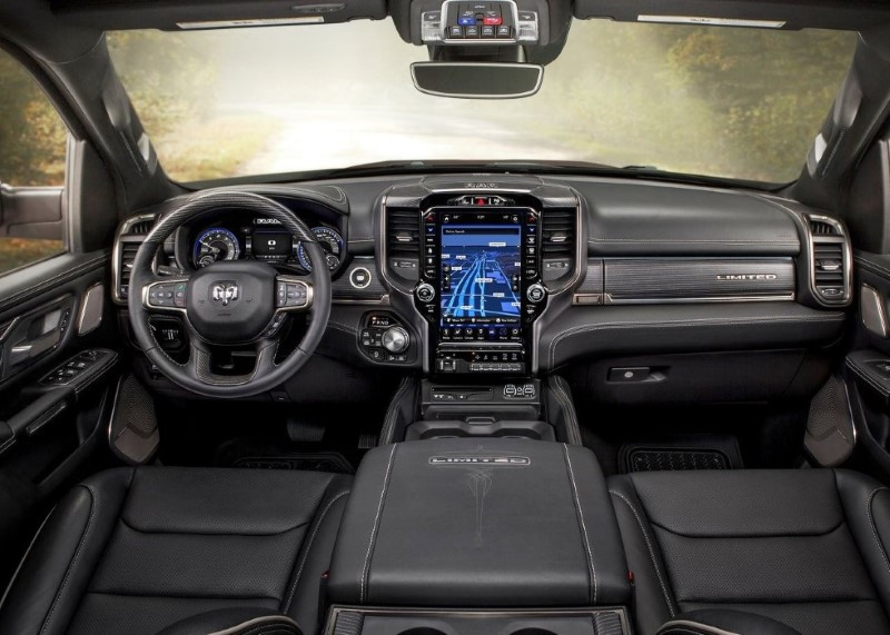 2020 Dodge RAM 1500 Center Console Review