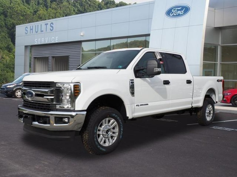 2020 Ford F-250 Crew Cab Lineup