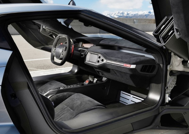 2020 Ford GT Interior With New Features