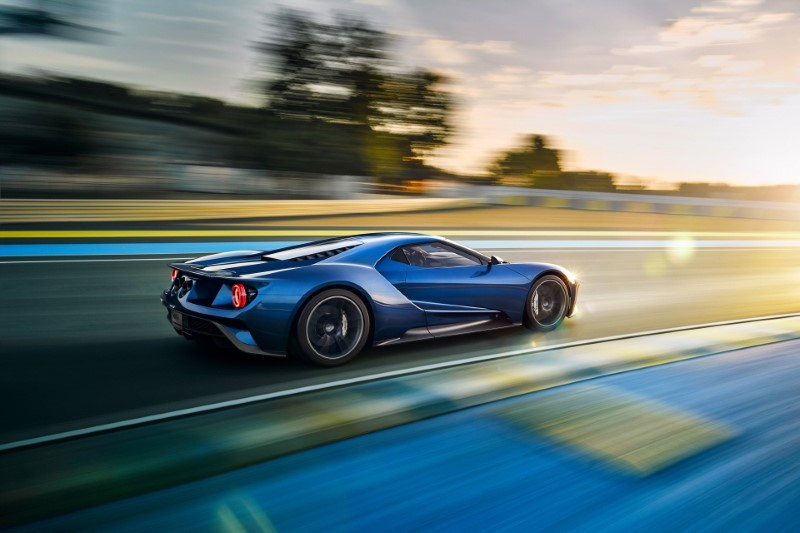 2020 Ford GT Redesign Exterior Blue Colors