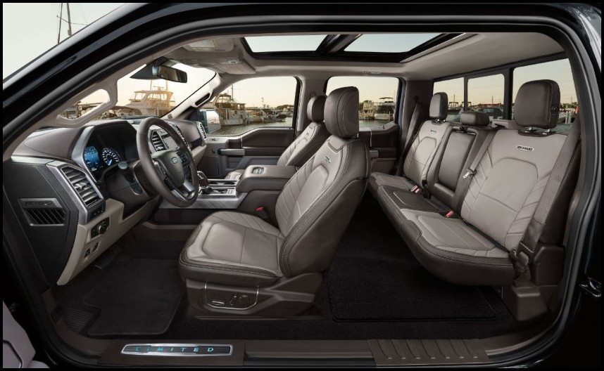 2020 Ford Raptor Interior Seating Capacity