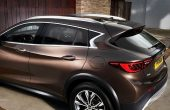 2020 Infiniti QX30 Safety Features & Infotaiment