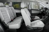 2020 VW Tiguan Interior White Color Leather Seat