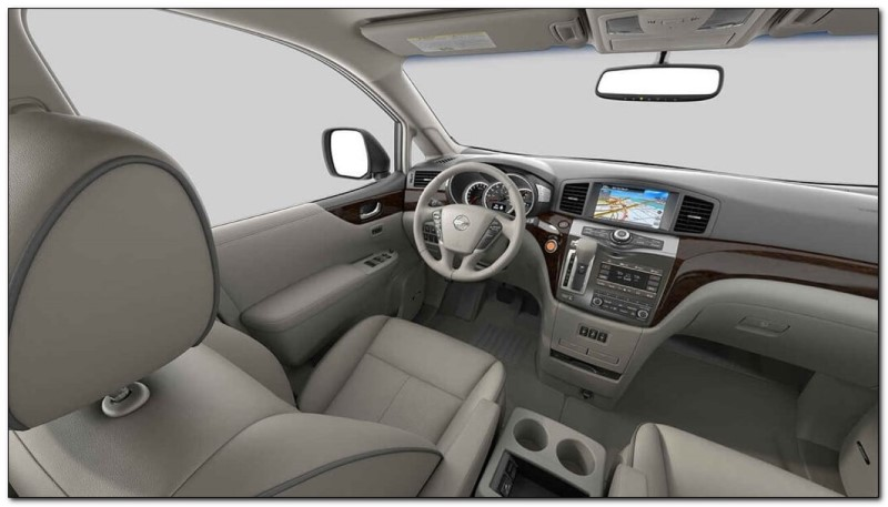 2021 Nissan Quest Interior Dashboard Feature Update