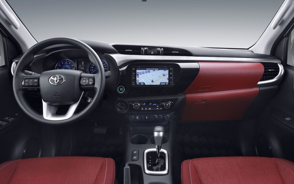 New Toyota Hilux 2021 Interior Colors