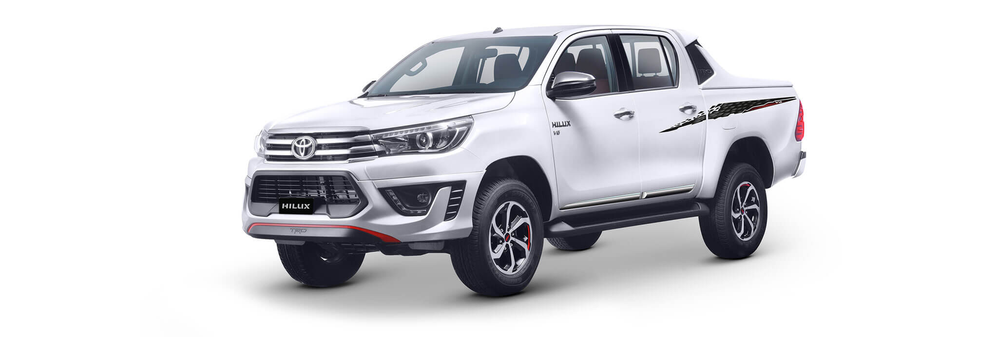 New Toyota Hilux White Colors New Design