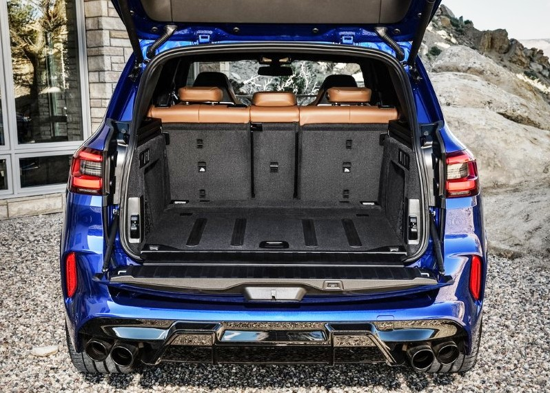 2020 BMW X5 M Competition Trunk Capacity