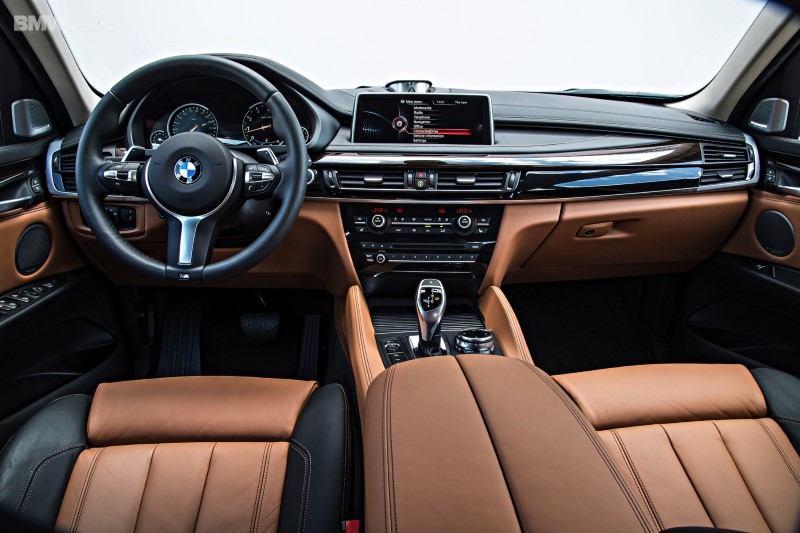 2020 BMW X6 Interior features With iDrive Platform