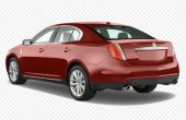 New MKS Lincoln Rendered Exterior Red Color