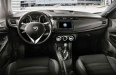 2020 Alfa Romeo Giulietta Interior With Black Leather