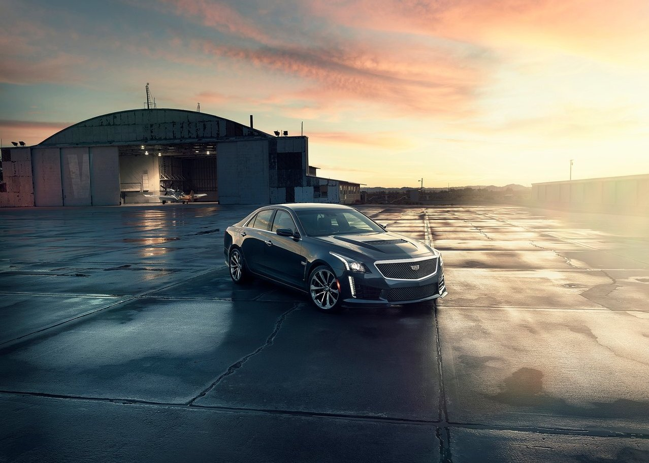 2020 Cadillac CTS-V Sedan Black Color Redesign and Changes