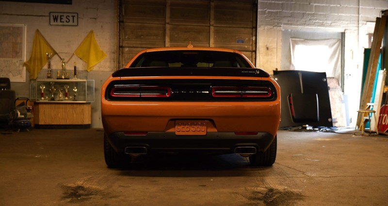 2020 Dodge Challenger Hellcat Rear Angle Tail Light