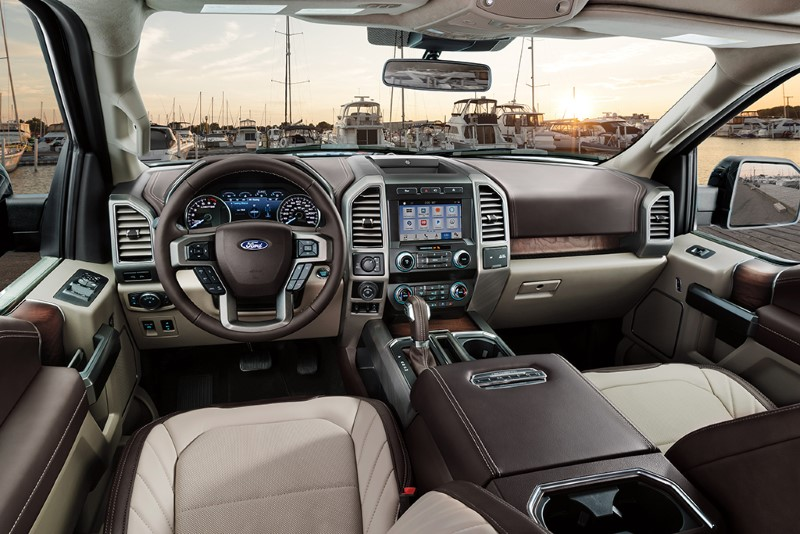 2020 Ford F150 Electric Interior with a Lot of Features