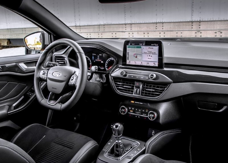 2020 Ford Focus Wagon Interior With New Tech Dashboard