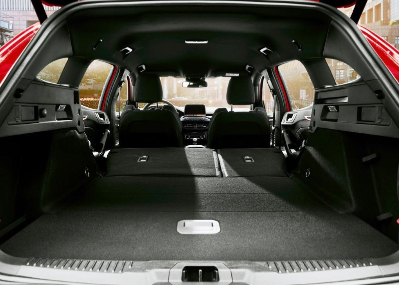 2020 Ford Focus Wagon Trunk Capacity
