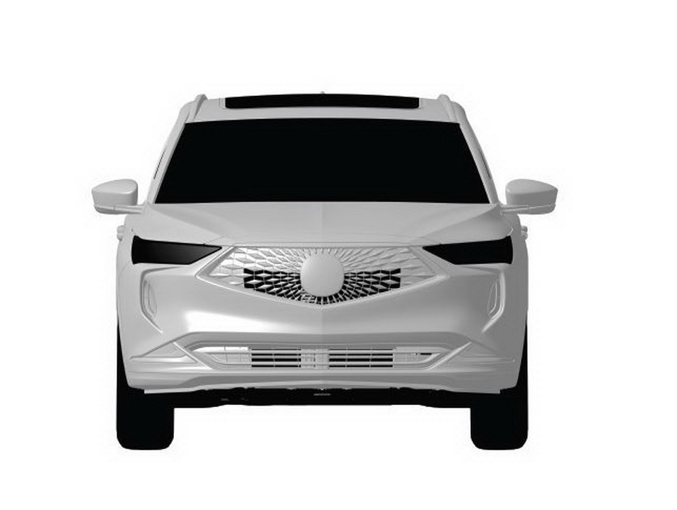 2021 Acura MDX Picture Leaked