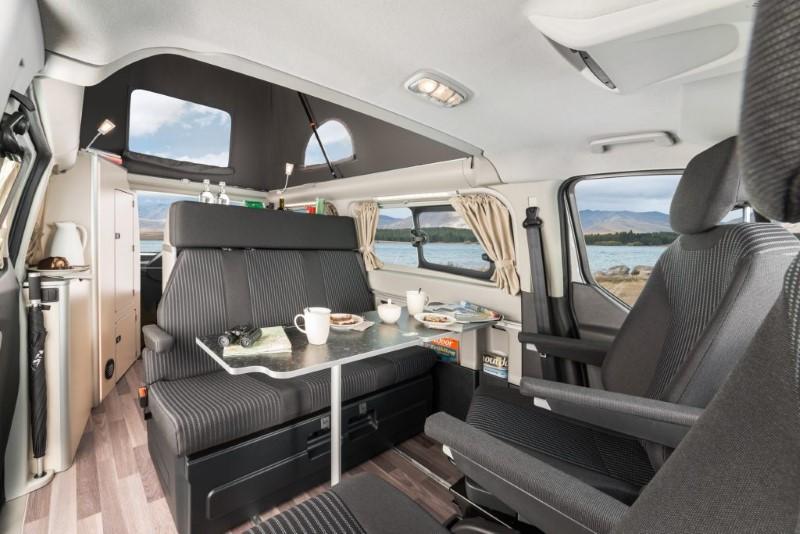 2021 Ford Tourneo Interior Custom Vans