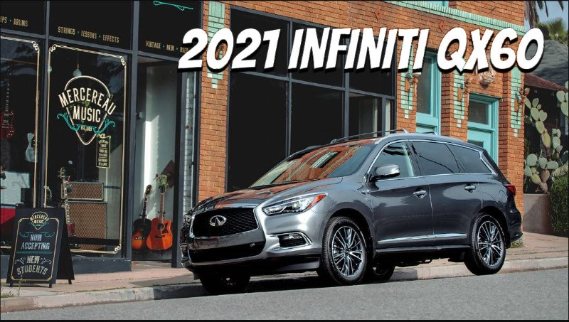 2021 Infiniti QX60 New Generations Grey Color Images