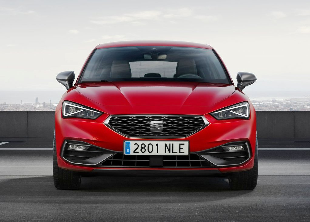 All New Seat Leon Front Angel 2020 Model