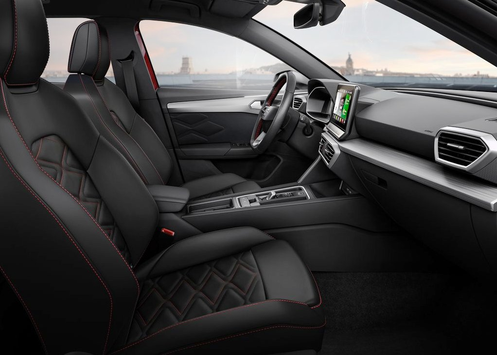 All New Seat Leon Interior Images