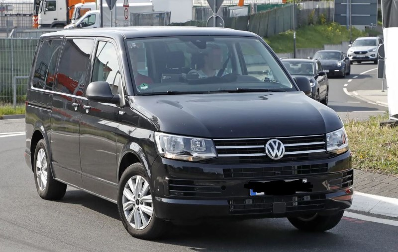 2021 VW Transpoter T7 New Pictures
