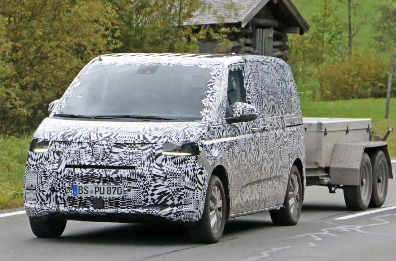2021 VW Transpoter T7 Towing Capacity