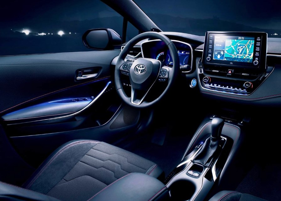 2020 Toyota Corolla Touring Sports Interior Equipment
