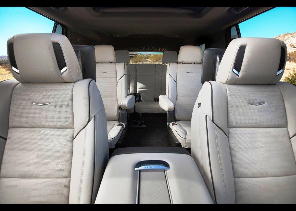 2021 Cadillac Escalade Interior Capacity for 6 Passenger