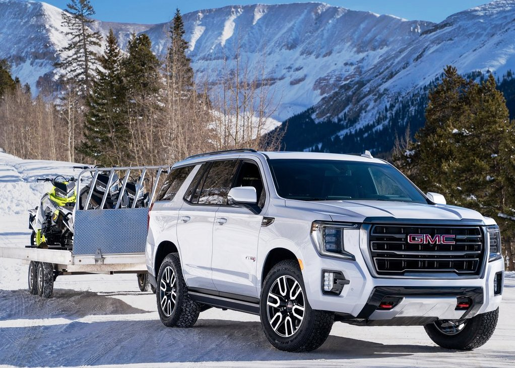 2021 GMC Yukon AT4 Towing Capacity