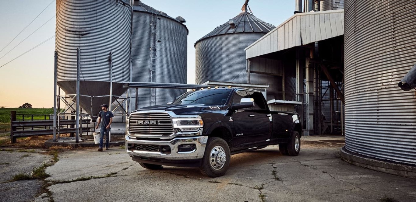 2021 RAM 3500 Black Long Horn