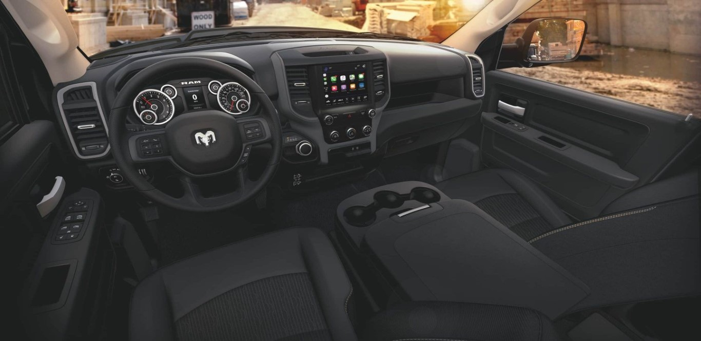 2021 RAM 3500 Interior with New Colors