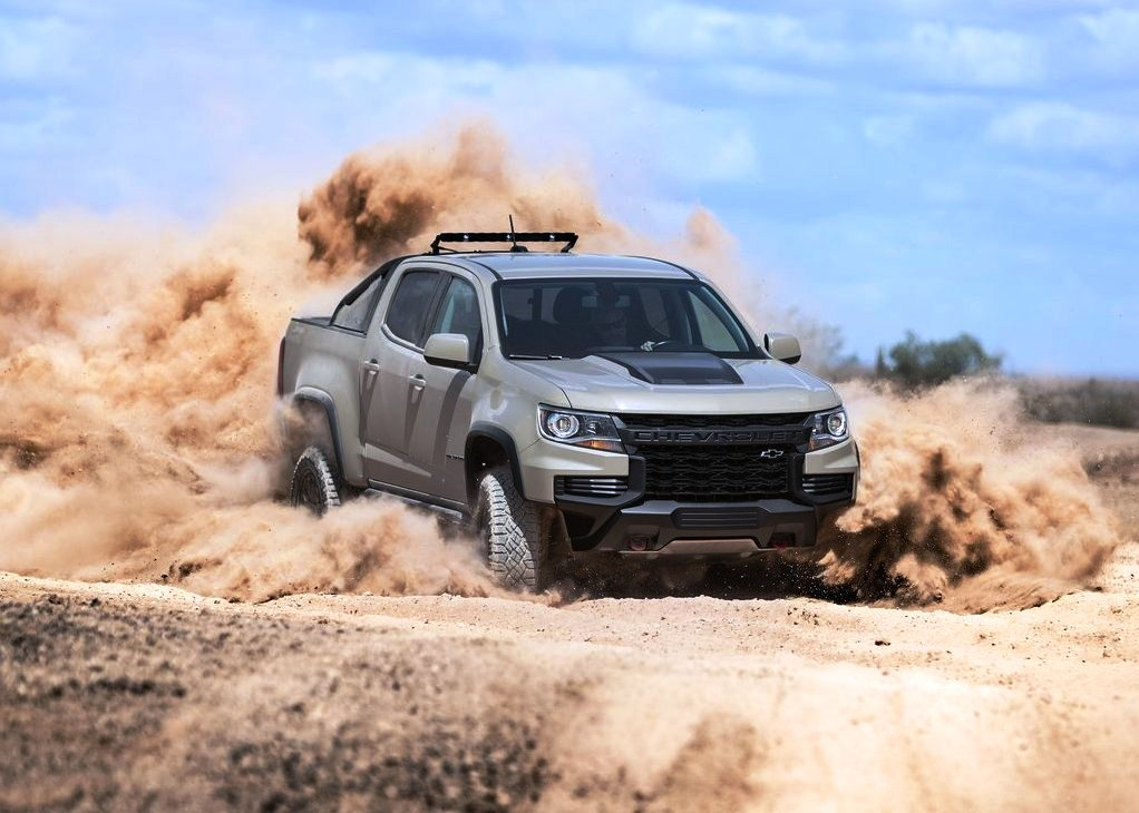 2021 Chevy Colorado ZR2 Off-Road Pickup Truck