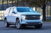2021 Chevy Suburban SUV Redesign Exterior with New LED Headlamps