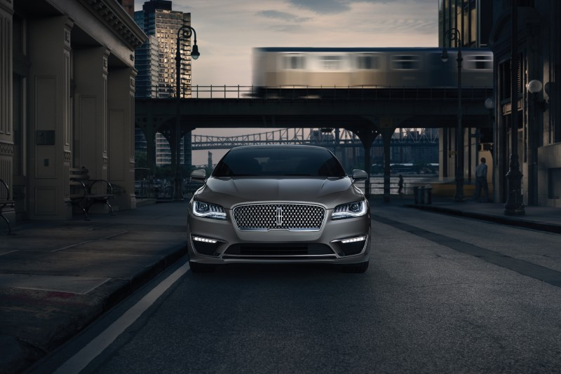 2021 Lincoln MKZ Exterior Design with New Signature Grille