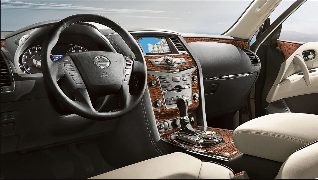2021 Nissan Patrol Interior Dashboard