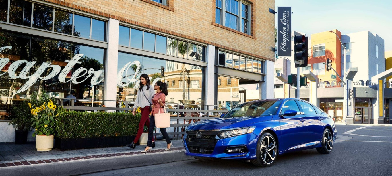 2021 Honda Accord Blue Color