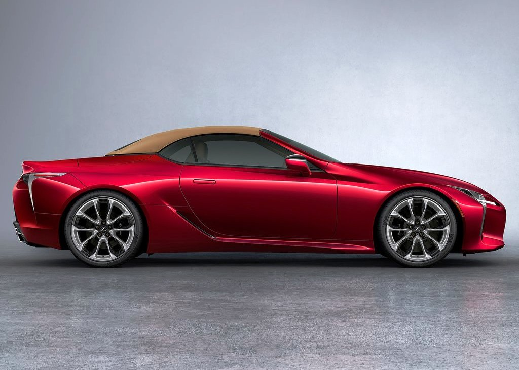 2021 Lexus LC 500 Convertible Inspiration RED Color