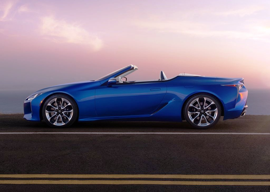 2021 Lexus LC 500 Convertible Price & Availability
