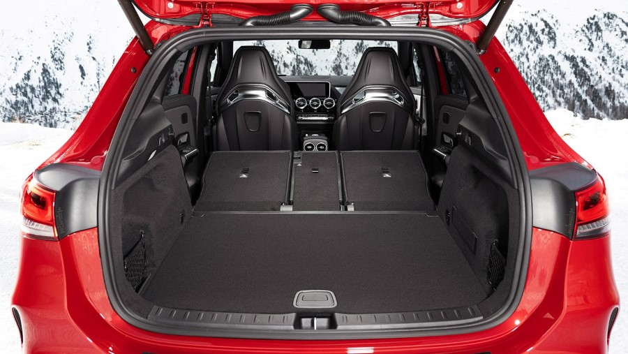 2021 Mercedes GLA 35 AMG Trunk Capacity
