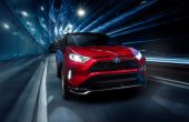 2021 Toyota Rav4 Prime Exterior Front With Vertical LED Accent Lights