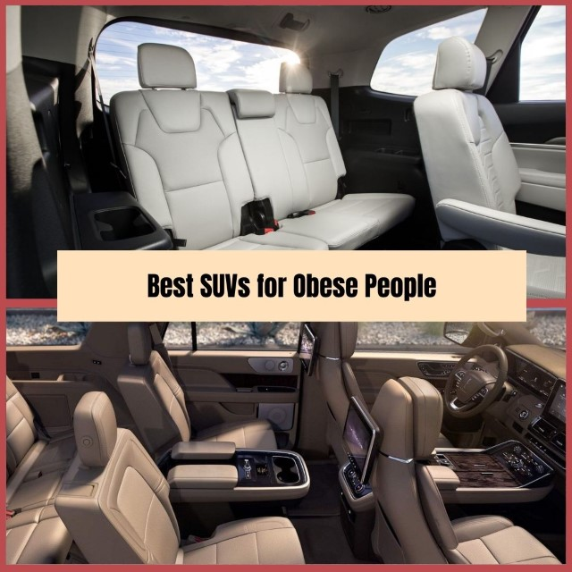 Best Spacious Interior SUVs for Obese People Ilustrations