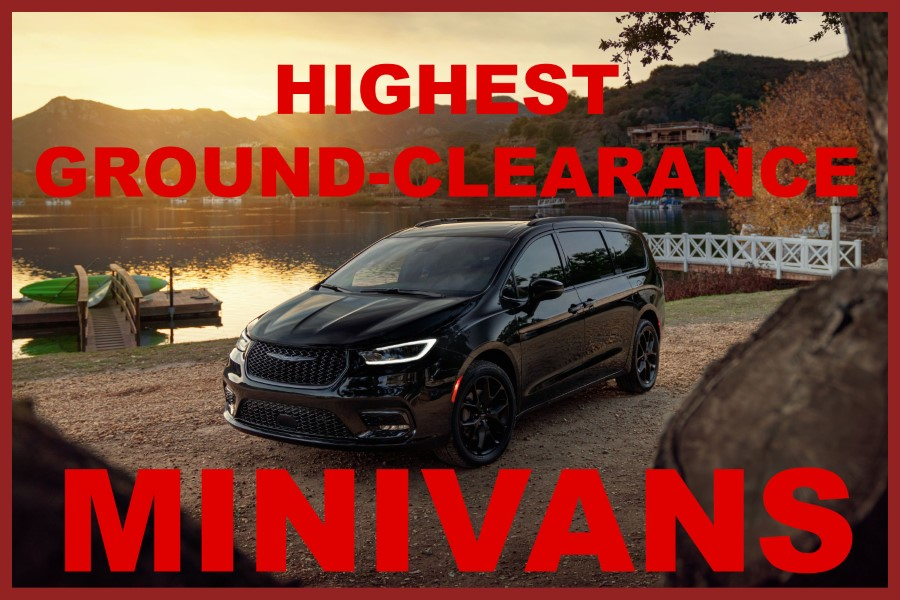 Minivan with Highest Ground Clearance