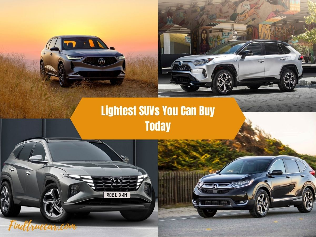 Lightest SUVs You Can Buy Today